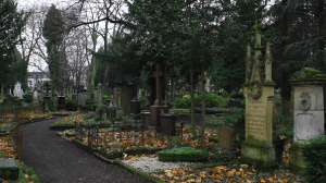 This old cemetery is one of Germany's most visited cemeteries in recent years.